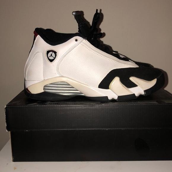official photos da8ee edb03 Jordan Retro 14 Black Toe (GS) With OG Box